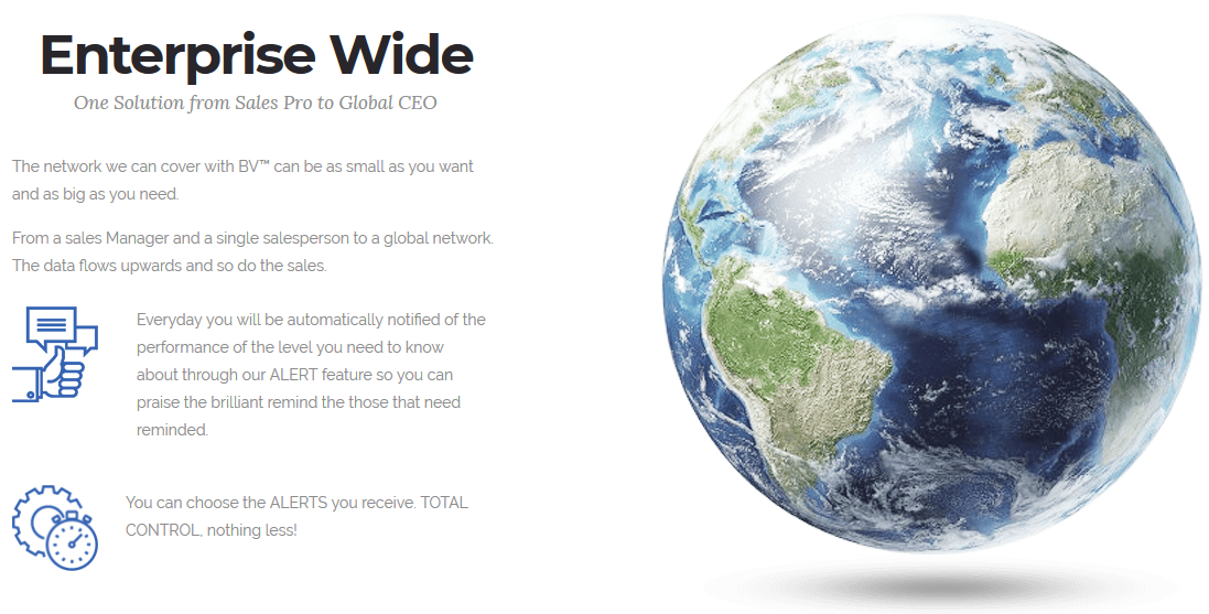 Business Visibility -  Enterprise Wide: One Solution from Sales Pro to Global CEO