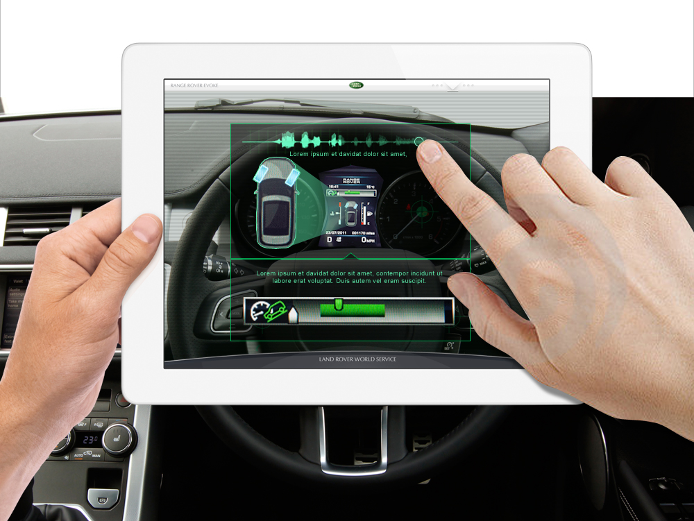 Adlabs Global - holding pad interior touch for info